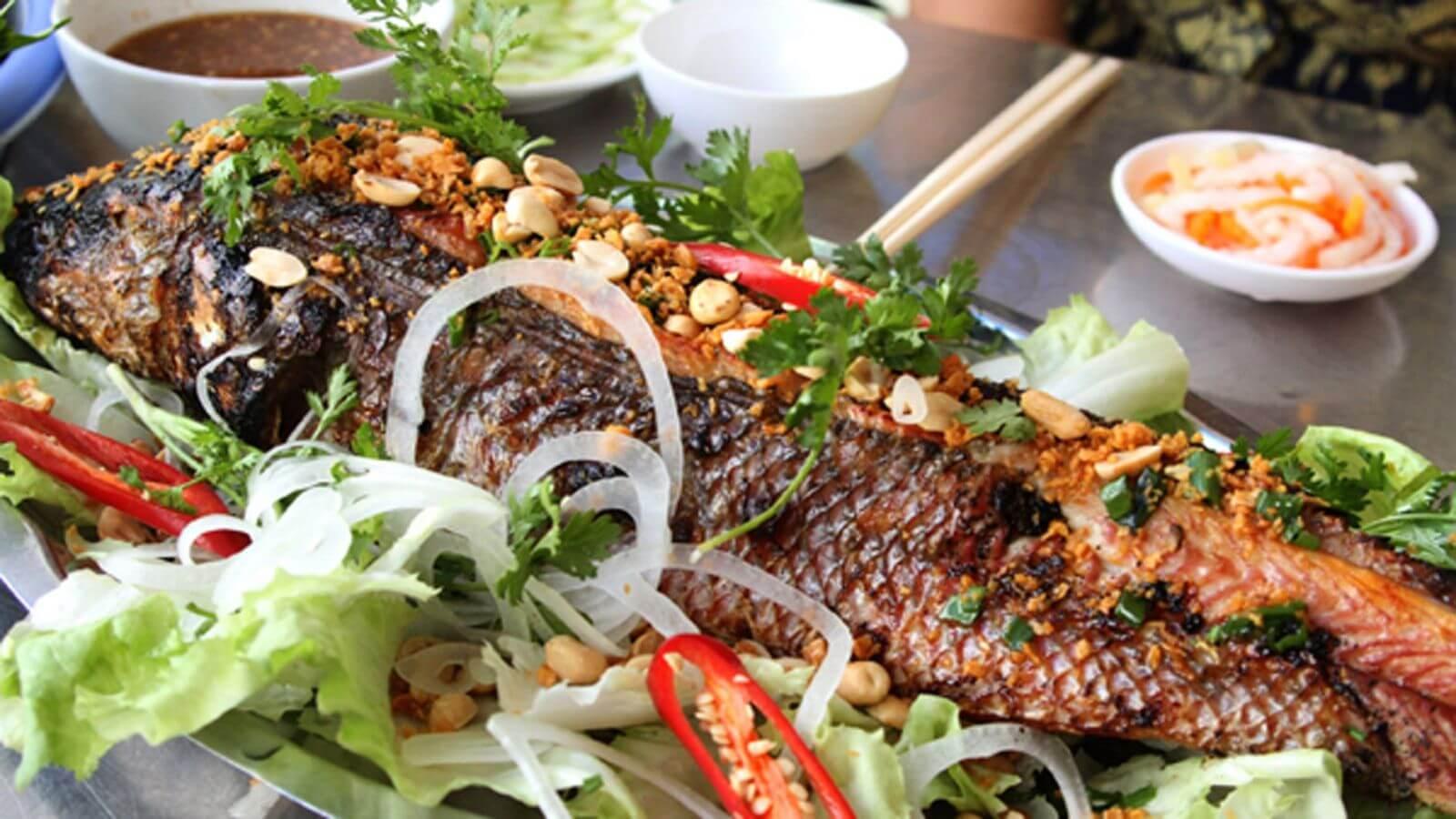 quán cá lóc nướng ngon ở Cần Thơ
