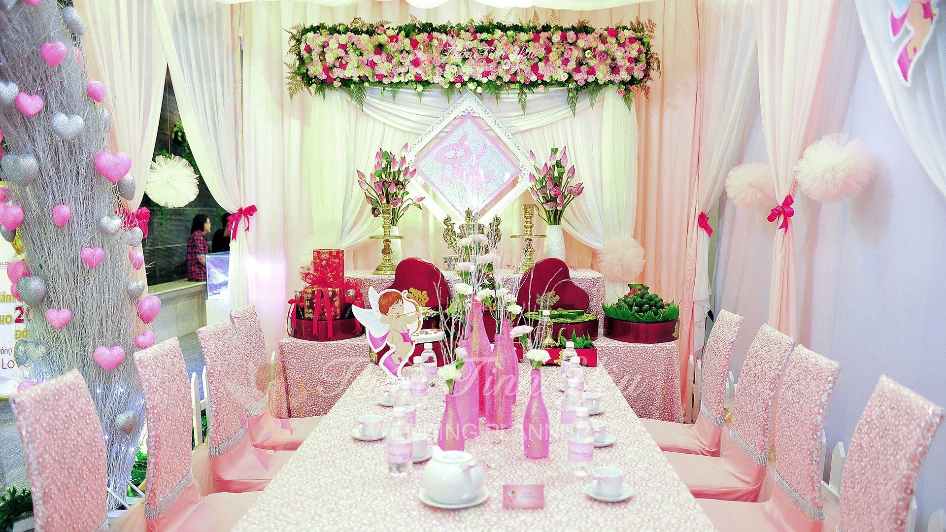Dịch vụ trang trí tiệc cưới Ngọc Thành
