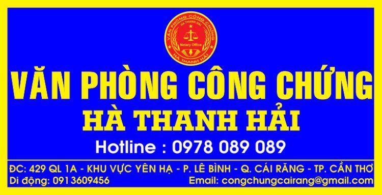 Hà Thanh Hải Cần Thơ